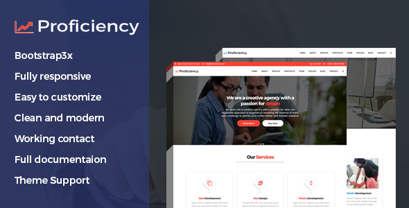 Launch proficiency material design business html template themeansar launch proficiency material design business html template flashek Gallery